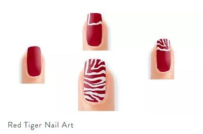 Then Break The Shackles Of Monochromes And Experiment Your Nail Art With Peppy Colors Let Canvas Flaunt That Tiger Stripes