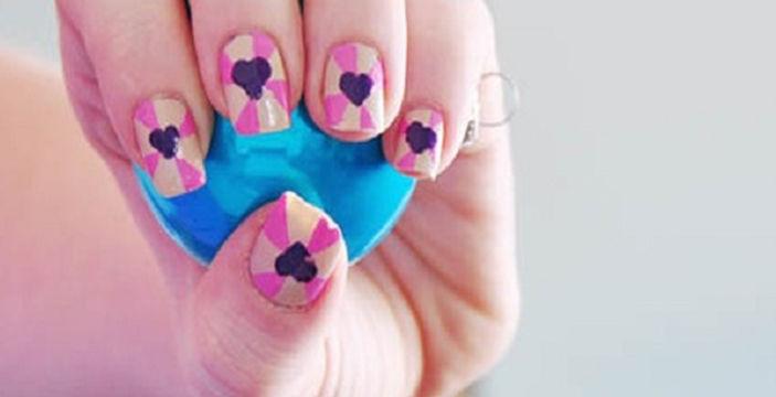 3d Heart Nail Design Tutorial