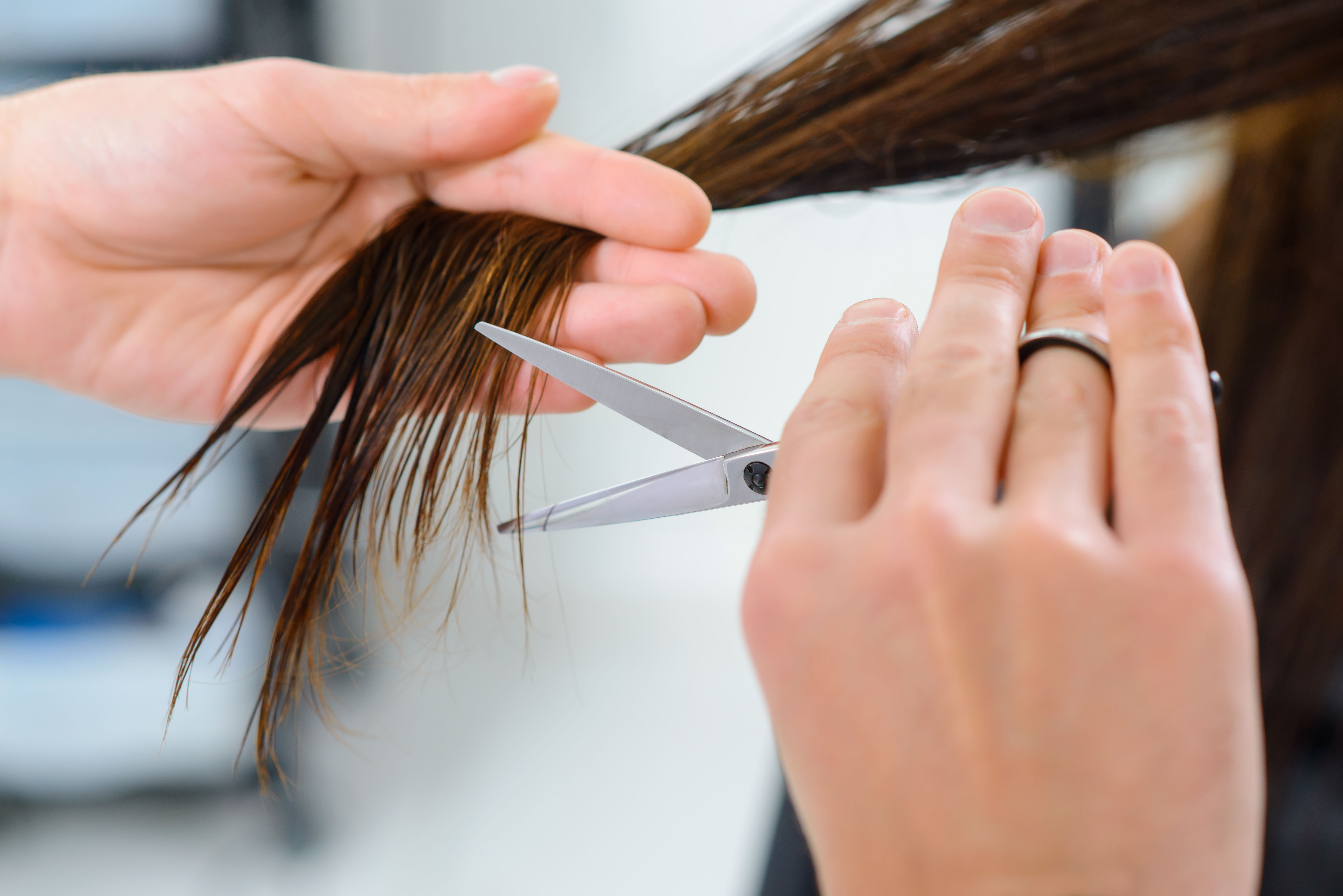 Trim hair to prevent hair loss