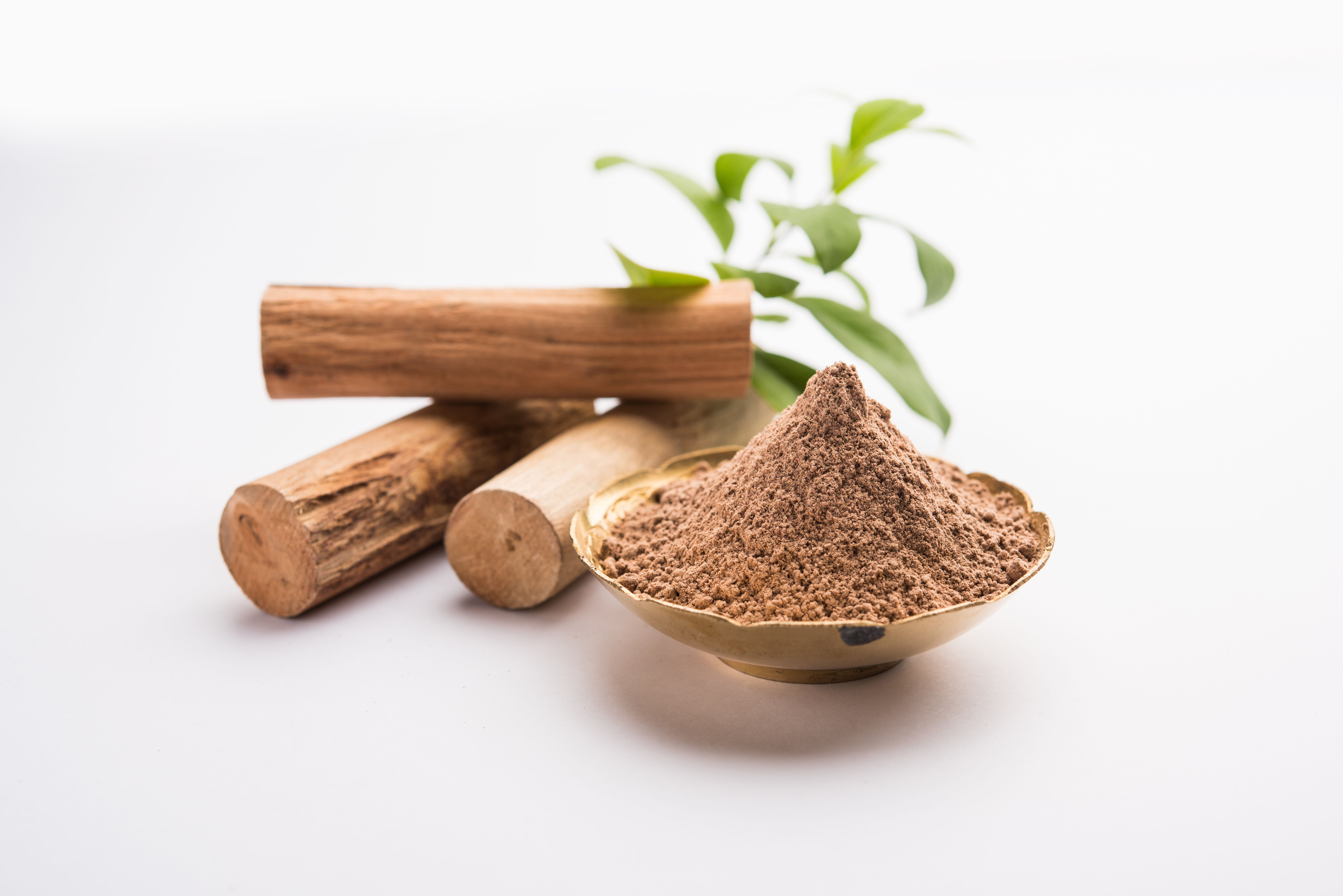 Sandalwood for suntan