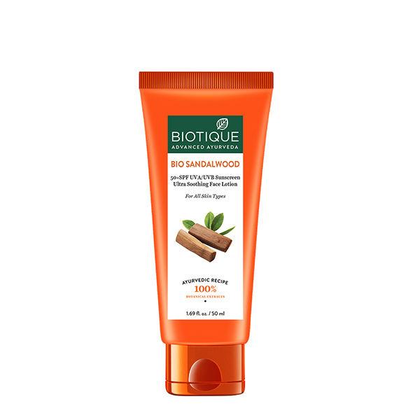 Biotique Bio Sandalwood: 50+ SPF UVA/UVB Sunscreen