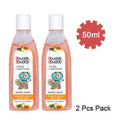 Buy Buddsbuddy Pack of 2 Hand Sanitizer Mixed Fruit (50 ml)-Purplle
