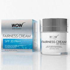 87f5f3dfe Buy WOW Skin Science Fairness Cream SPF 20PA ++ (50 ml)-Purplle