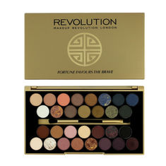 Buy Makeup Revolution Fortune Favours The Brave 30 Eyeshadow-Purplle