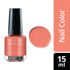 Buy Lakme Absolute Gel Stylist Nail Color Soft Rose 15 Ml Purplle