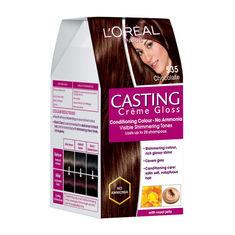loreal paris casting creme gloss chocolate 535 875 g 72 ml - L Oreal Coloration Chocolat