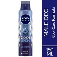dae8b5626a Buy Nivea Men Cool Kick Antiperspirant Deodorant Spray (150 ml)-Purplle