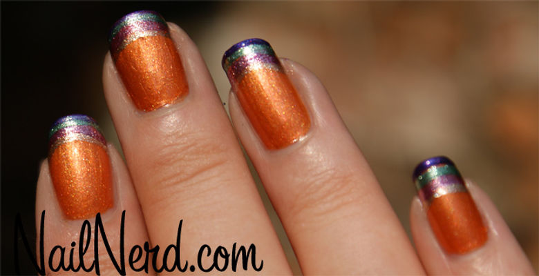 Nail Art With  Spicy Fiesta