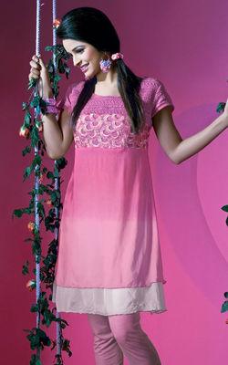 Pink Dress Makdeup Series