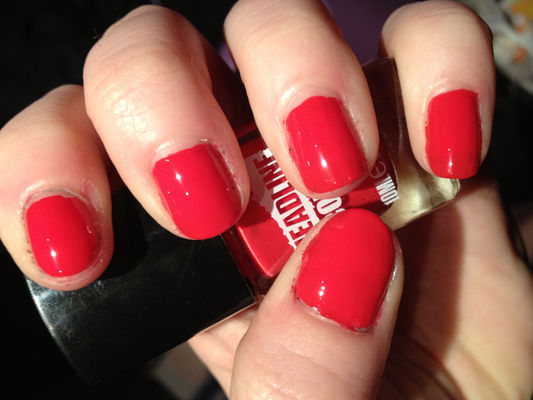 Nail Art With Red Goodness