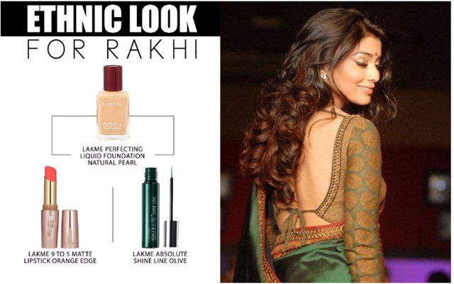Ethnic Look For Rakhi