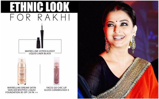 Ethnic Look For Rakhi