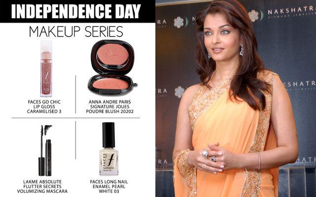 Independence Day Makeup Series - Aishwarya Rai Bachchan