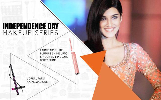 Independence Day Makeup Series - Kriti Sanon