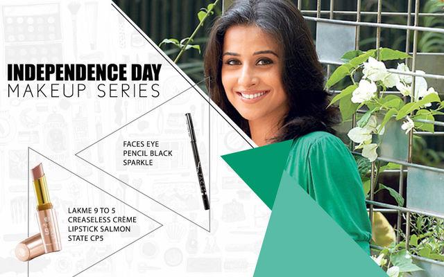 Independence Day Makeup Series - Vidya Balan