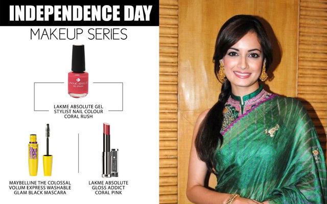 Independence Day Makeup Series - Dia Mirza