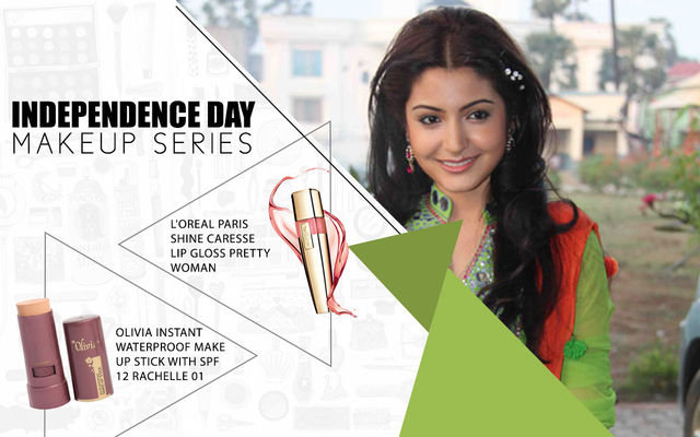 Independence Day Makeup Series - Anushka Sharma