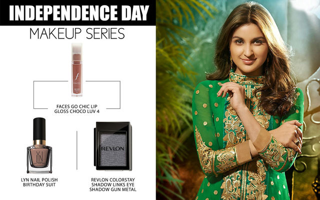 Independence Day Makeup Series - Parineeti Chopra