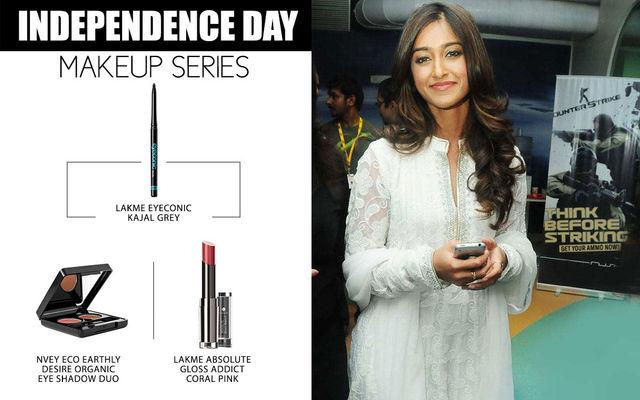 Independence Day Makeup Series - Ileana D'Cruz