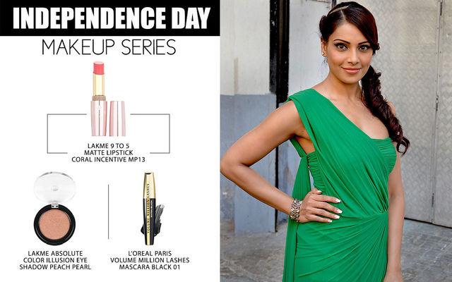 Independence Day Makeup Series - Bipasha Basu