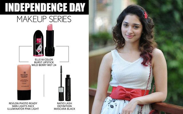Independence Day Makeup Series - Tamannaah Bhatia