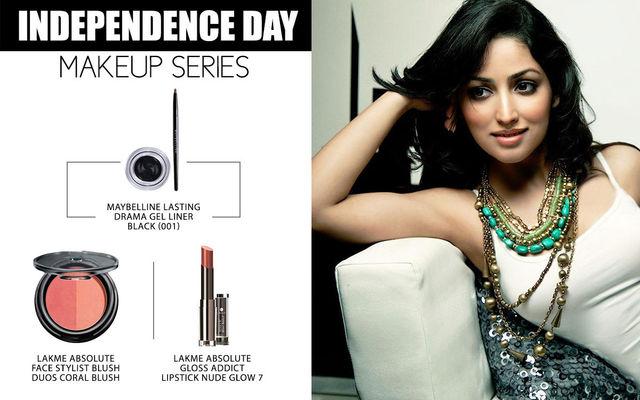 Independence Day Makeup Series - Yami Gautam