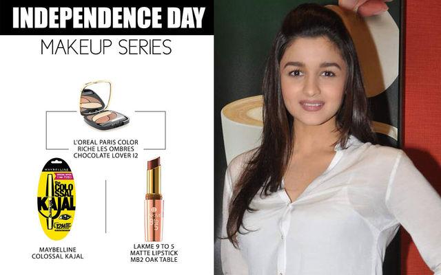 Independence Day Makeup Series - Alia Bhatt