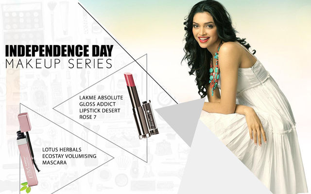 Independence Day Makeup Series - Deepika Padukone