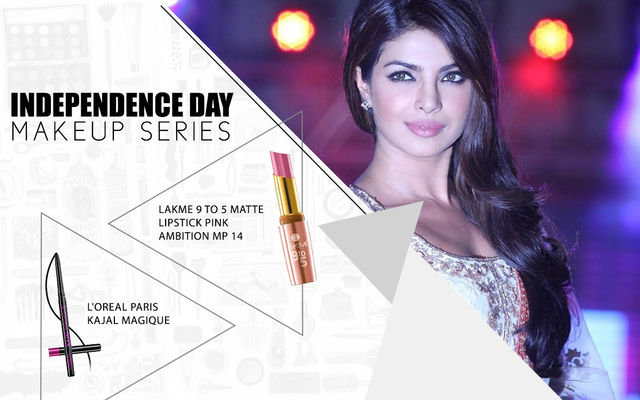 Independence Day Makeup Series - Priyanka Chopra