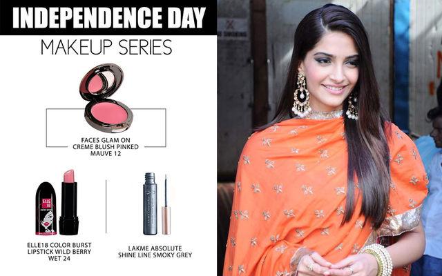 Independence Day Makeup Series - Sonam Kapoor