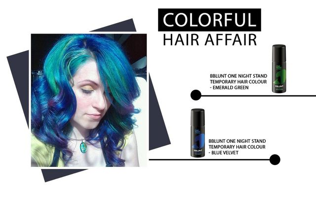 Colourful Hair Affair