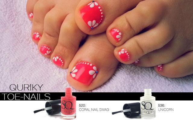 Quriky Toe-Nails
