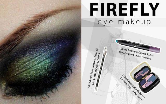 Firefly Eye Makeup