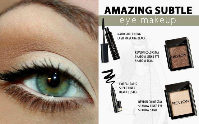 Amazing Subtle Eye Makeup