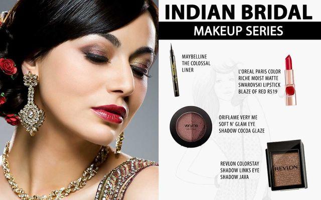 Indian Bridal Makeup Series