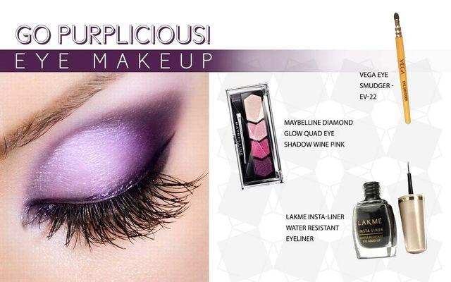 Go Purplicious Eye Makeup