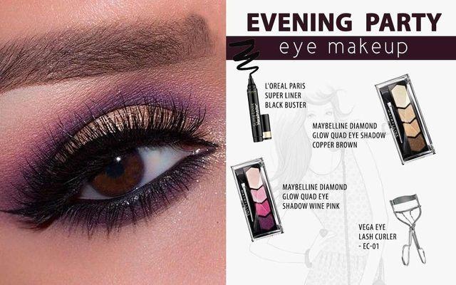 Evening Party Eye Makeup