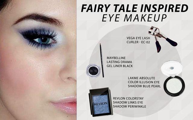 Fairy Tale Inspired Eye Makeup