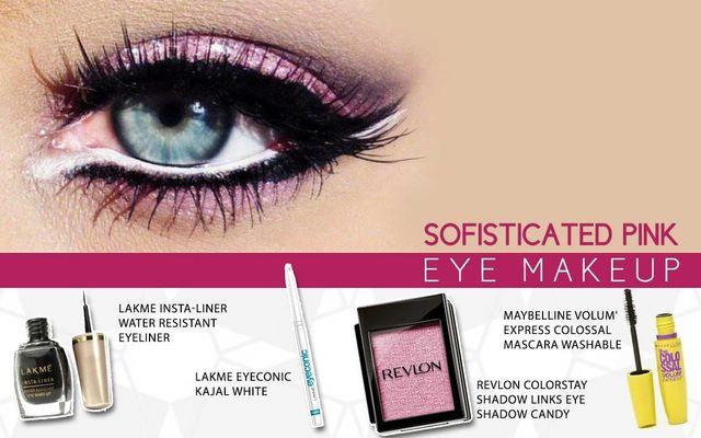 Sophisticated Pink Eye Makeup