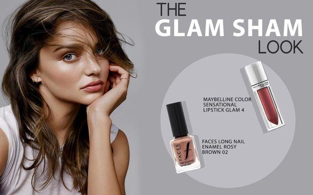 The Glam Sham Look