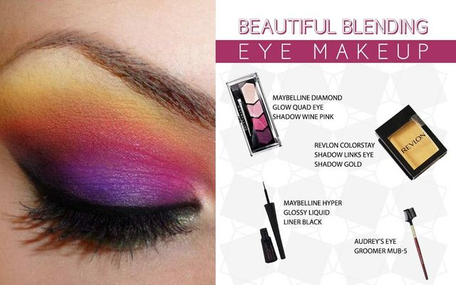 Beautiful Blending Eye Make Up