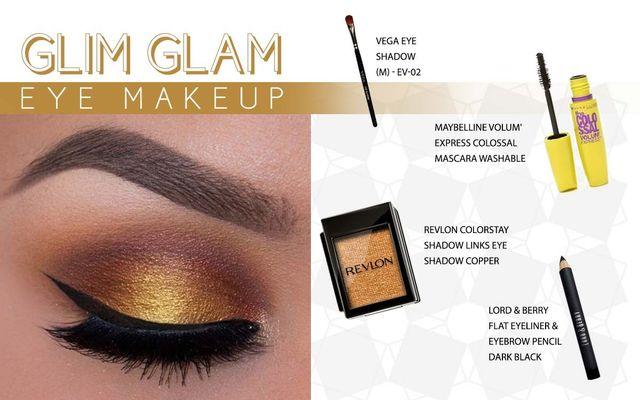 Glim Glam Eye Make Up