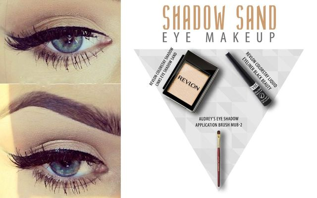 Shadow Sand Eye Make Up