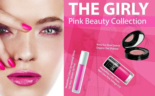 The Girly Pink Beauty Collection