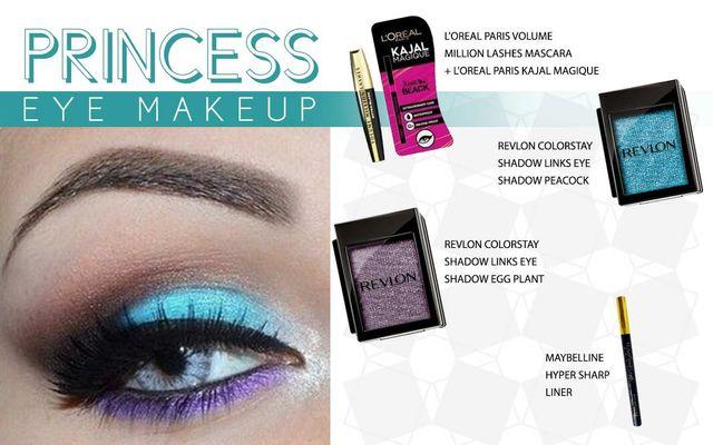 Princess Eye Make Up