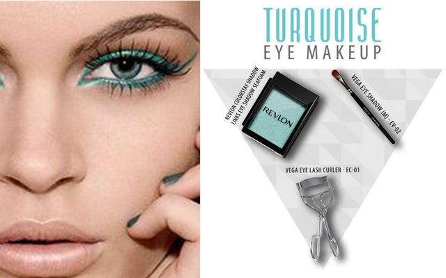 Turquoise Eye Make Up