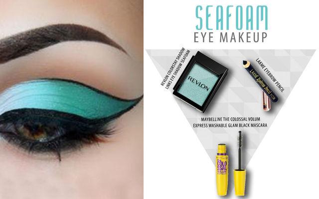 Seafoam Eye Make Up