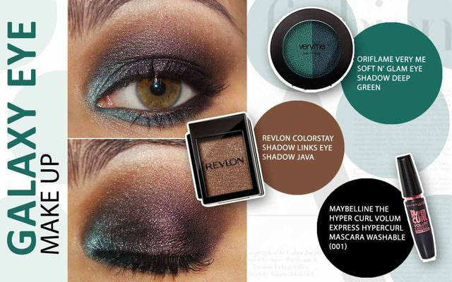 Galaxy Eye Make Up