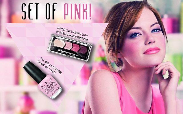 Set Of Pink