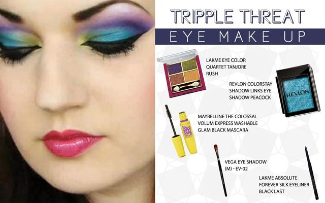 Tripple Threat Eye Make Up